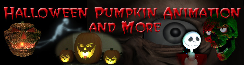 window creeps pumpkin animation and other looping animation effects for halloween